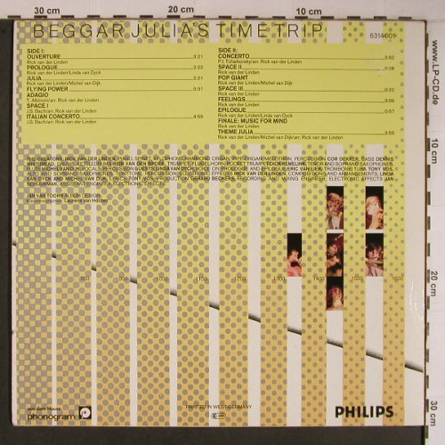 Ekseption: Beggar Julia's Time Trip, Philips(6314 001), D,  - LP - X6827 - 12,50 Euro