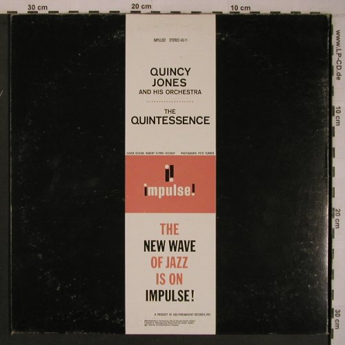 Jones,Quincy and his Orchestra: The Quintessence, Foc, vg+/vg+, Impulse / MCA(AS-11), D / US,  - LP - X6924 - 20,00 Euro