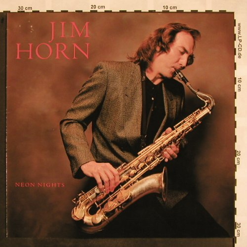 Horn,Jim: Neon Nights, WB(925 728-1), D, 1988 - LP - X839 - 4,00 Euro