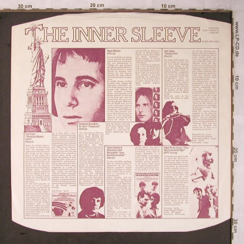 CBS: The Inner Sleeve, CBS(U.S. POP 1), UK,  - LP - X5386 - 1,80 Euro