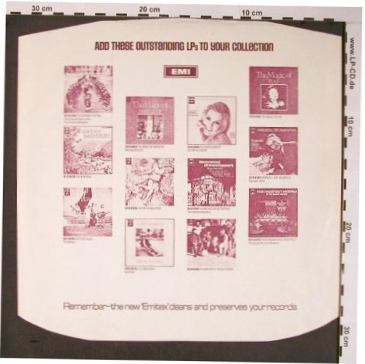 EMI: The Greatest Rec.Company..., EMI(), UK,  - Sleeve - X5776 - 1,50 Euro