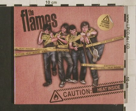 Flames: Caution: Heat Inside !,Digi, FS-New, Revolver(RDScd007), , 2009 - CD - 80014 - 5,00 Euro
