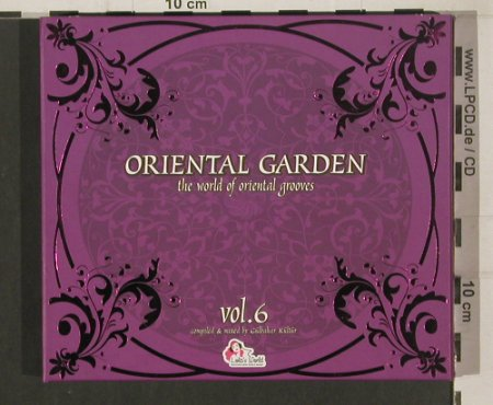 V.A.Oriental Garden Vol.6: 35 Tr., Digi, FS-New, Lola's World(cts0001652), EU, 2009 - 2CD - 80043 - 11,50 Euro