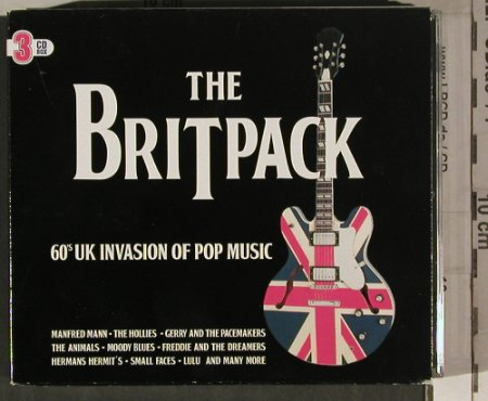 V.A.The BritPack: 60's UK Invasion of Pop Music,Box, Disky(CB 901104), NL, 2003 - 3CD - 80263 - 10,00 Euro
