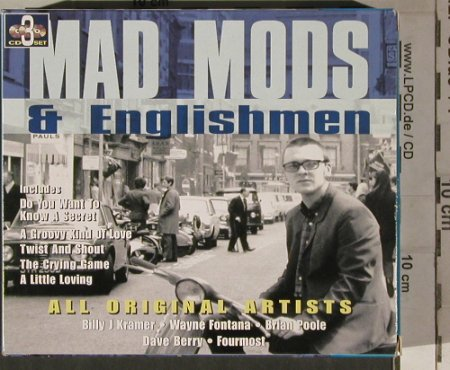 V.A.Mad Moods & Englishmen: Fourmost...Wayne Fonda, Box,33Tr., Point(PNT8398), D, 1999 - 3CD - 80264 - 7,50 Euro