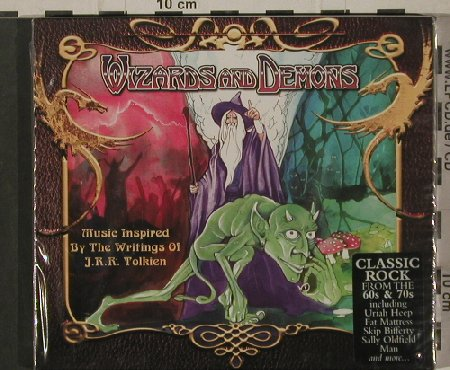 V.A.Wizzards And Demons: Music inspired...Tolkin, FS-New, Castle(CMRCD 635), UK, 14 Tr., 2003 - CD - 80381 - 7,50 Euro
