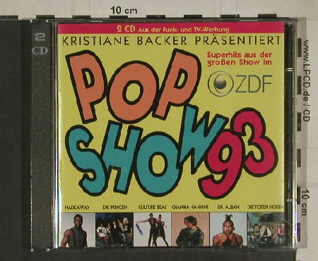 V.A.Pop Show 93: Kristiane Backer,Take That..B.Tyler, Ariola/BMG(74321 17064 2), D, 1993 - 2CD - 80426 - 5,00 Euro