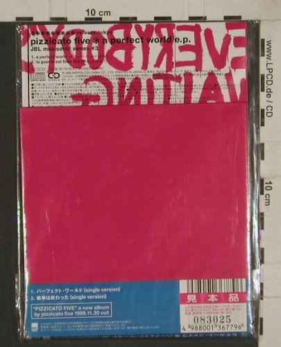 Pizzicato Five: a perect world e.p., FS-New, Matador(), Japan, 2002 - CD5inch - 80473 - 7,50 Euro