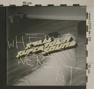 V.A.Where We're At: A Label Collection, Digi, 9Tr., Smalltown SuperTownSound(), , 2004 - CD - 80488 - 5,00 Euro