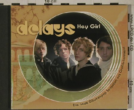 Delays: Hey Girl +2, Promo,  Digi, RoughTrade(), , 2004 - CD5inch - 80588 - 3,00 Euro