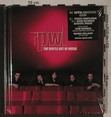 RPWL: The Gentle Art of Music, Digibook, Gentle Art of Music(GAOM 002), EU,FS-New, 2010 - 2CD - 80641 - 10,00 Euro