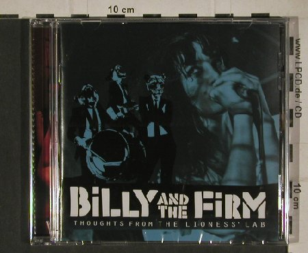 Billy & the Firm: Thoughts from the Lioness' Lab, Spark & Shine(KAS003), FS-New, 2010 - CD - 80671 - 5,00 Euro