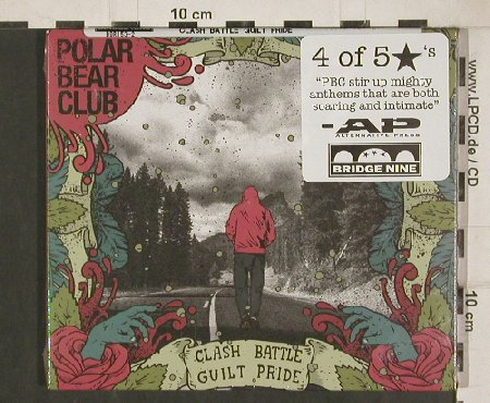 Polar Bear Club: Clash Battle Guilt Pride, Digi, Bridge Nine Rec.(B9R153), , 2011 - CD - 80803 - 10,00 Euro
