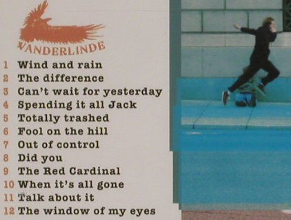 Vanderlinde: Wind and Rain, FS-New, Artist Station Rec.(ASR 078), US, 2011 - CD - 80838 - 7,50 Euro