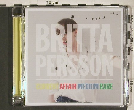 Persson,Britta: Current Affair Medium Rare, Selective Notes(SLN004), EU, 2010 - CD - 80877 - 5,00 Euro