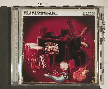 Urban Voodoo Machine: Bourbon Soaked Gypsy Blues Bop'n..., Gypsy Hotel Rec.(GHRcd 001B), EU, 2009 - CD - 80957 - 10,00 Euro