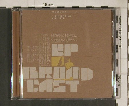 Broadcast: Extended Play,EP,4Tr., Warp(WAP129cd), UK, 2000 - CD5inch - 80983 - 5,00 Euro