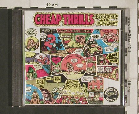 Big Brother & Holding Company: Cheap Thrills, CBS(32004), A, 1968 - CD - 80991 - 7,50 Euro