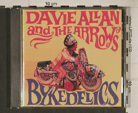 Allan,Davie And The Arrows: Bykedelics, 14 Tr., Gee-Dee(270148-2), D, 1999 - CD - 81000 - 10,00 Euro