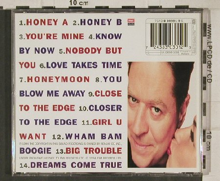 Palmer,Robert: Honey, EMI(), NL, 1994 - CD - 81052 - 7,50 Euro