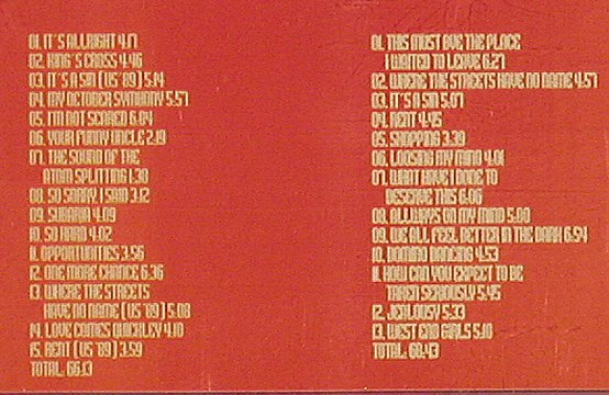 Pet Shop Boys: The Best of US Tour Live'89-91, HighQualityLim(HQL CD1114/15), ,  - 2CD - 81059 - 12,50 Euro