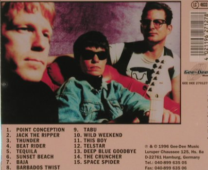 Susan & The Surftones: Thunder Beach, 15 Tr., Gee-Dee(2700127-2), D, 1996 - CD - 81084 - 10,00 Euro