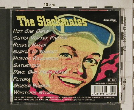Slackmates: Hot Car Girls, 10 Tr., Gee-Dee(270139-2), D, 1997 - CD - 81093 - 7,50 Euro