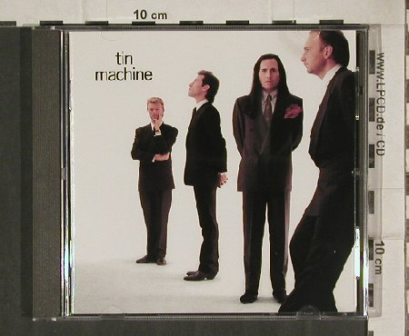 Tin Machine: Same (David Bowie), EMI(CDP-7-91990-2), A, 1989 - CD - 81098 - 7,50 Euro