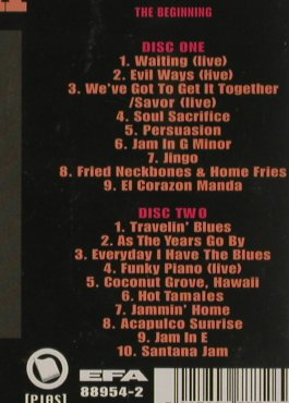 Santana: Fried Neckbones & Home Fries, Yeaah!(4), UK - Live, 1999 - 2CD - 81131 - 7,50 Euro