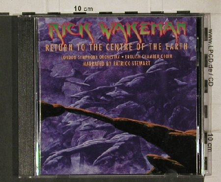Wakeman,Rick: Return To The Centre Of Earth, EMI(), EEC, 1999 - CD - 81238 - 7,50 Euro