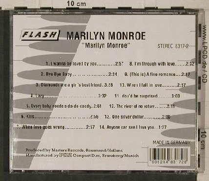 Monroe,Marilyn: Same, Flash /Pilz(), D,  - CD - 81268 - 5,00 Euro
