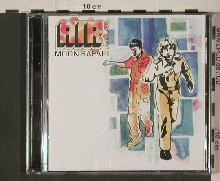 Air: Moon Safari( french Band), Virgin(CDV 2848), EEC, 1997 - CD - 81274 - 6,00 Euro