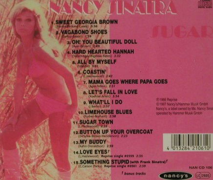 Sinatra,Nancy: Sugar (1966), Nancy's(NAN CD 106), D, Ri, 1997 - CD - 81612 - 10,00 Euro
