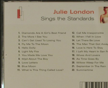 London,Julie: Sings the Standards, 22 Tr., EMI(5 32574-2), EU, 2001 - CD - 81619 - 5,00 Euro