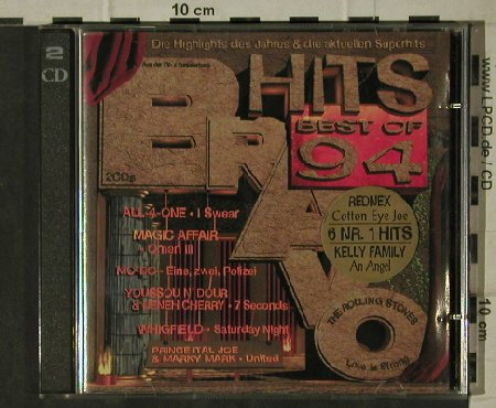 V.A.Bravo Hits: Best of ' 94 , 39Tr., EMI(), D, 1994 - 2CD - 81637 - 7,50 Euro