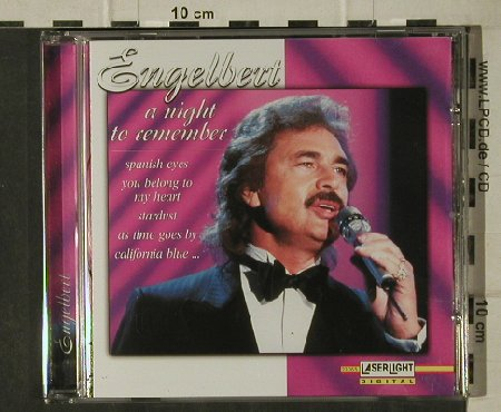 Engelbert: A Night to Remember, LaserLight(21 065), D, 2002 - CD - 81659 - 5,00 Euro