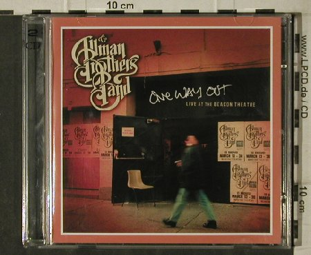 Allman Brothers Band: One Way Out/Live a.t.Beacon Theatre, Sanctuary,Promo(SANPR256), EU, 2003 - 2CD - 81673 - 10,00 Euro