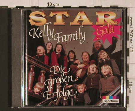 Kelly Family: Star Gold, Spectrum(519 619-2), EC,  - CD - 81847 - 5,00 Euro