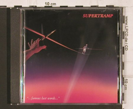 Supertramp: ...Famous Last Words, AM(493 353-2), D, 1982 - CD - 81967 - 7,50 Euro