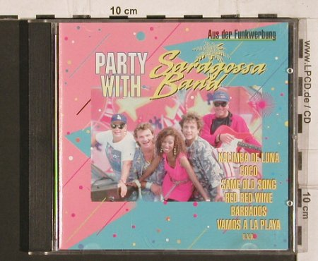 Saragossa Band: Party with, ZYX(55002-2), D,  - CD - 81990 - 7,50 Euro