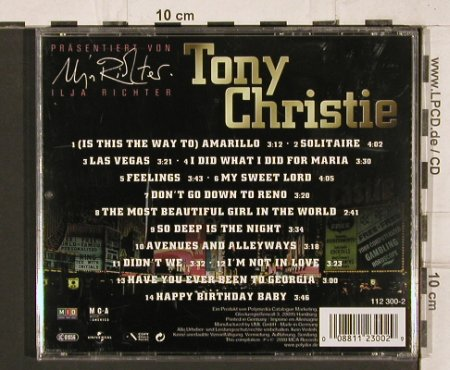 Christie,Tony: Is This the way to Amarillo, MCA(112 300-2), D, 00 - CD - 81991 - 5,00 Euro