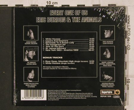 Burdon,Eric & Animals: Every One Of Us(68), Digi, FS-New, Repertoire(REPUK 1055), D, 2004 - CD - 82071 - 20,00 Euro