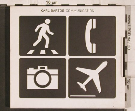 Bartos,Karl: Communication, Digi gx, Home Rec.(), , 2003 - CDgx - 82074 - 24,00 Euro