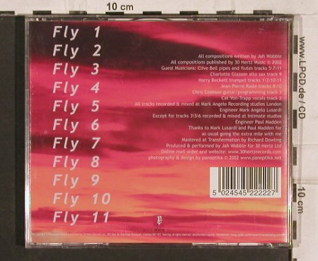 Jah Wobble: Fly, 30 Hertz19(), UK, 2002 - CD - 82154 - 5,00 Euro