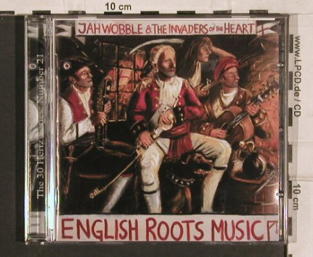 Jah Wobble & Invaders of The Heart: English Root Music, 30 Herz(CD21), UK,  - CD - 82155 - 10,00 Euro
