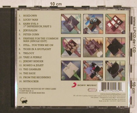 Emerson,Lake & Palmer: The Best Of ELP,16 Tr., Sony(886979022829), EU, 2011 - CD - 82163 - 9,00 Euro