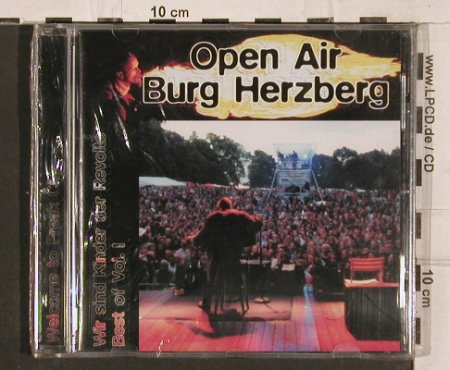V.A.Open Air Burg Herzberg: Wir sind Kinder der Revolte,Best of, Thing Progressive(TPCD1.807.030), D,FS-New, 1998 - CD - 82180 - 10,00 Euro
