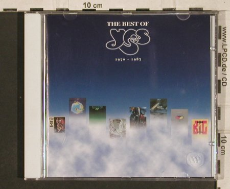 Yes: The Best Of 1970-1987, Elektra(), D, 1999 - CD - 82186 - 7,50 Euro