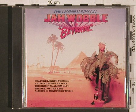 Jah Wobble: Betrayal (the Legend Lives on),15Tr, Virgin(CAROL 1669-2), US, 1990 - CD - 82187 - 15,00 Euro