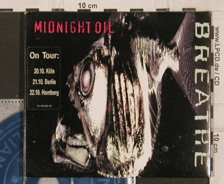 Midnight Oil: Breathe,Digi, Columbia(), A, 1996 - CD - 82188 - 6,00 Euro